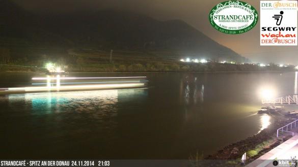 Beispielbild Full-HD-Webcam bei Nacht